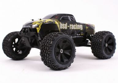FLUX MARAUDER 4WD TRUCK 1/8TH (BRUSHLESS, TWIN 7.4V LIPO)